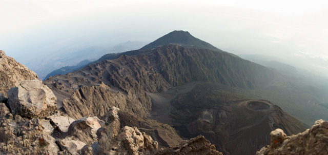 Mt. Meru crater