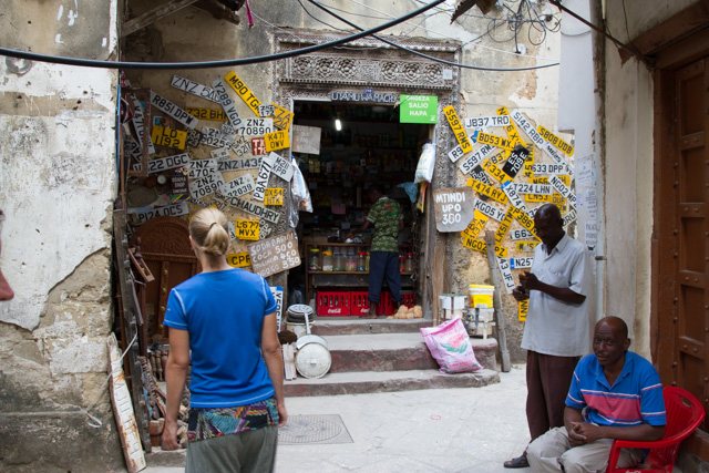 Walking the streets of Stone Town