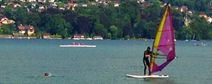 Windsurfing Weekend in Thun