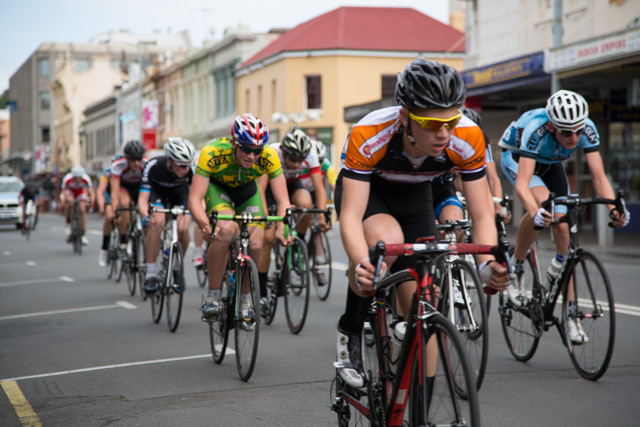 Launceston bike race