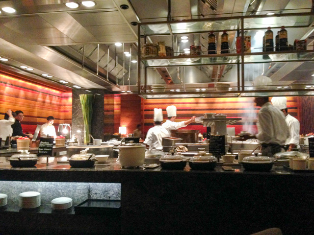 Buffet resturant with 10 chefs