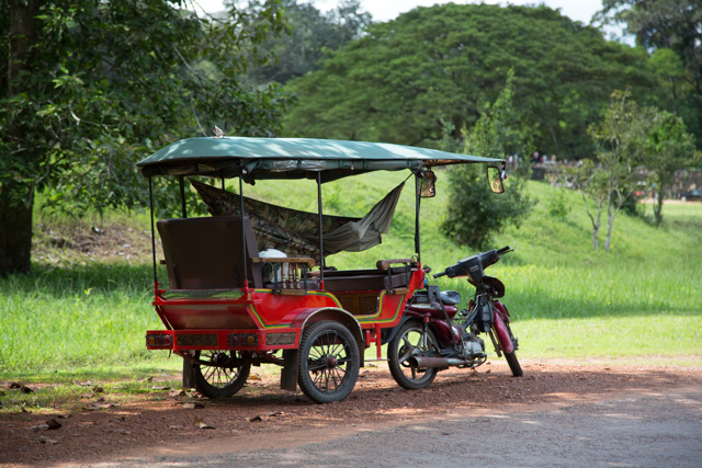 Tuk tuk with hammok