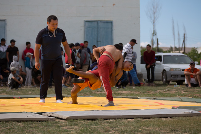 Wrestling competition. © Shu Yeung
